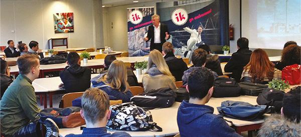 Grote groep van start met ikgaondernemen in Veenendaal